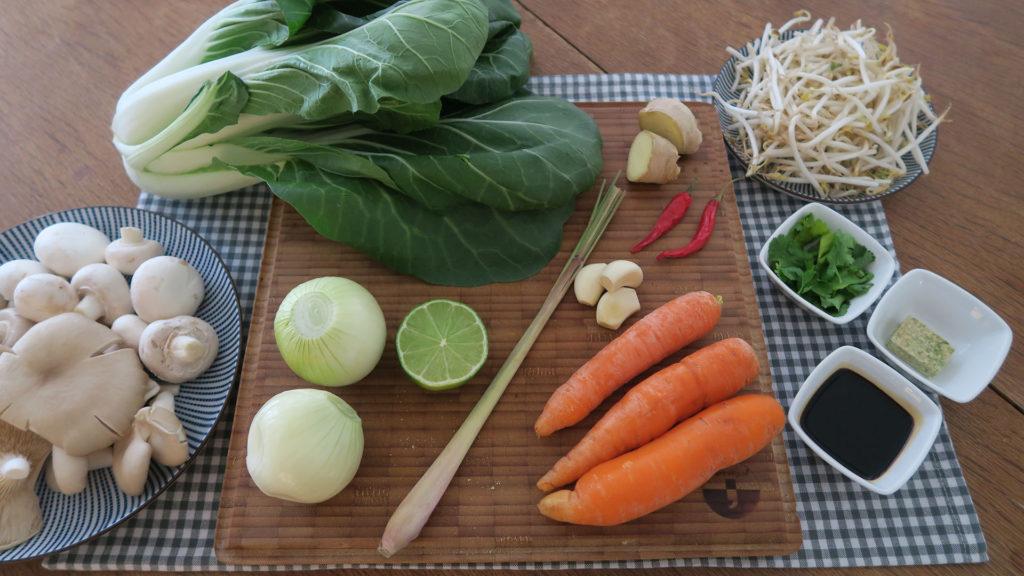 Oosterse groentesoep